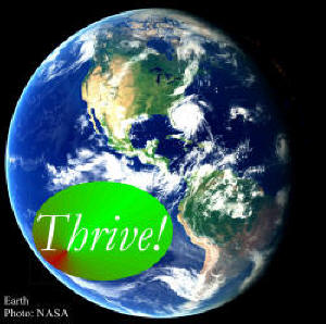 Earth with Thrive!